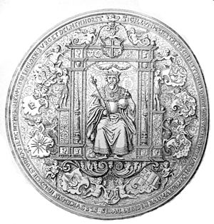 Christian III of Denmark - Seal of Christian III