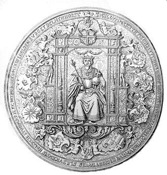 Christian III of Denmark - Seal of Christian III