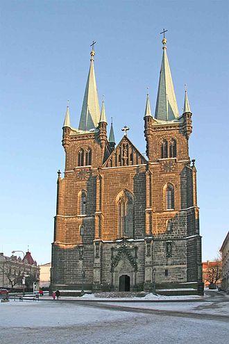 Pardubice Region - Image: Chrudim kostel Nanebevzetí Panny Marie