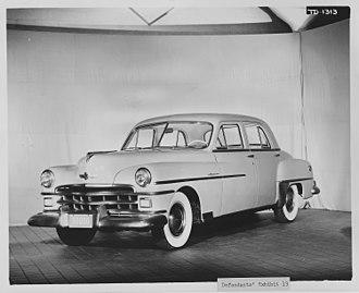 Chrysler Royal - Image: Chrysler Corporation automobiles and vans. 1946 1951models NARA 283791