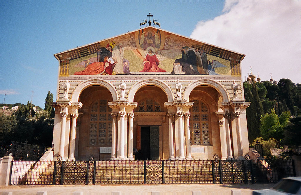 The Church of All Nations, also known as the Church or Basilica of the Agony