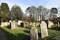 Church of St Mary Hatfield Broad Oak Essex England - churchyard looking southeast.jpg