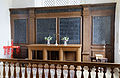 Church of St Mary interior chancel sanctuary Henham Essex England.jpg