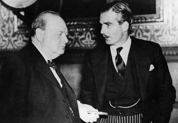 Churchill and Eden 1935