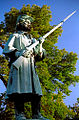 "Cincinnati - Spring Grove Cemetery ""Civil War Soldier - Eyes on morning light"".jpg"