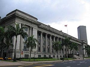City Hall, Singapore - Image: City Hall 2, Singapore, Jan 06