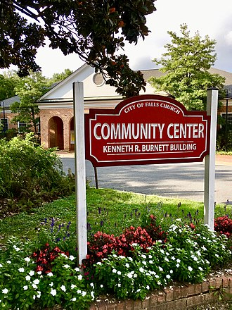 Falls Church, Virginia - Image: City of Falls Church Community Center 2018