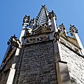 City of London Cemetery and Crematorium Anglican Church chapel spire 3.jpg