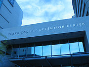 The Clark County Detention Center.
