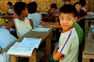 Classroom in Myanmar