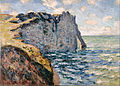 Claude Monet - The Cliff of Aval, Etrétat - Google Art Project.jpg