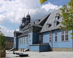 Marktkirche zum Heiligen Geist in Clausthal-Zellerfeld - Außenansicht von Südosten