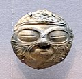 Clay mask, Jomon period 1000-400 BC.jpg