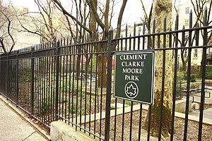 Clement Clarke Moore - Clement Clarke Moore Park