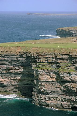 Ballycastle, County Mayo - Cliffs along the Atlantic coastline of County Mayo, near Ballycastle