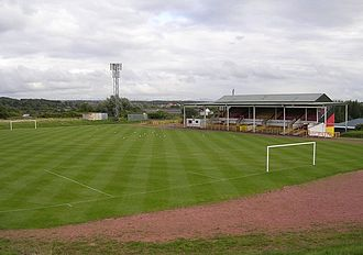 2017–18 Scottish League One - Image: Cliftonhill Park Football Ground, Coatbridge
