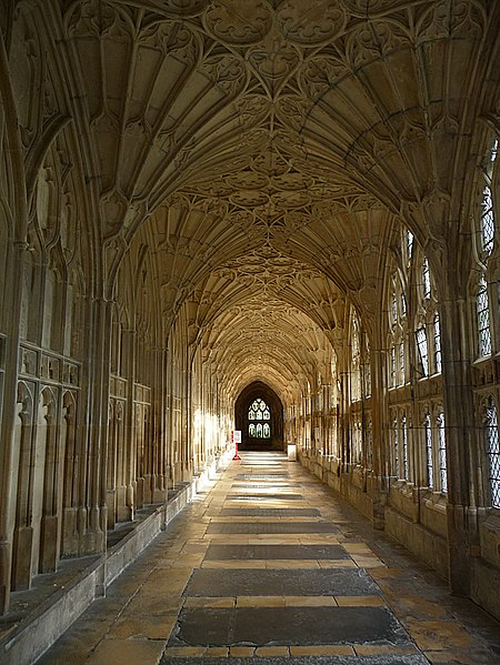 File:Cloister, Gloucester Cathedral - geograph.org.uk - 1704649.jpg