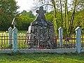 Cmentarz unicki (XIXw.)(fot.2) - Pratulin gmina Rokitno powiat bialski woj. lubelskie ArPiCh A-762.JPG