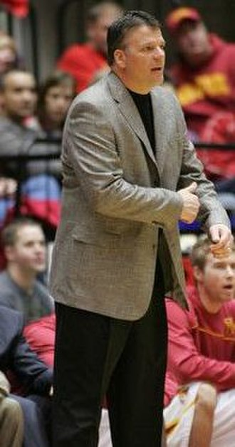 Greg McDermott - McDermott coaching Iowa State