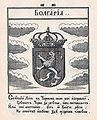 Coat of Arms of Bulgaria from Stemmatographia by Hristofor Zhefarovich (1741).jpg