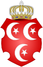 Coat of Arms of the Sultan of Egypt.svg