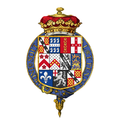 Coat of arms of Charles Spencer, 3rd Duke of Marlborough, KG, PC.png