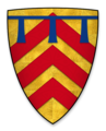 Coat of arms of Gilbert de Clare, heir to the earldom of Hertford.png