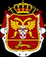 Coat of arms of Metropolitan Petar I of Montenegro 2.png