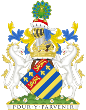 Duke of Rutland - Image: Coat of arms of the duke of Rutland