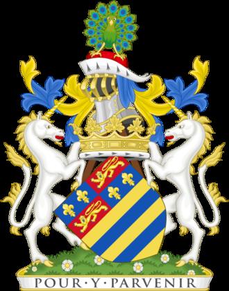Duke of Rutland - Image: Coat of arms of the duke of Rutland