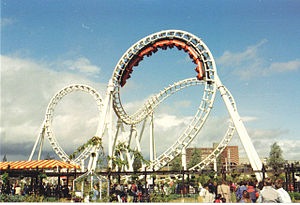 English: Coca-Cola Thrill Ride This was a ride...