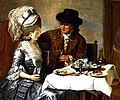 Coclers, J B, Dining out (1780).jpg