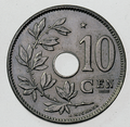 Coin BE 10c Albert I star rev NL 44bis.png