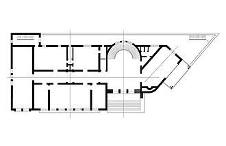 Colegio Nacional de Arquitectos de Cuba - Colegio Nacional de Arquitectos de Cuba. Floor Plan