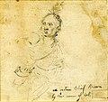 Porträt des Oberst der US-Armee, Joseph Cook, Iroquois Mohawk.
