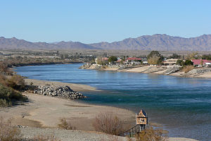 Colorado River at Needles, California