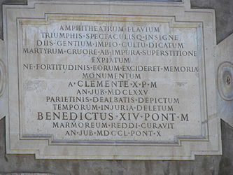Colosseum dedication 2.jpg