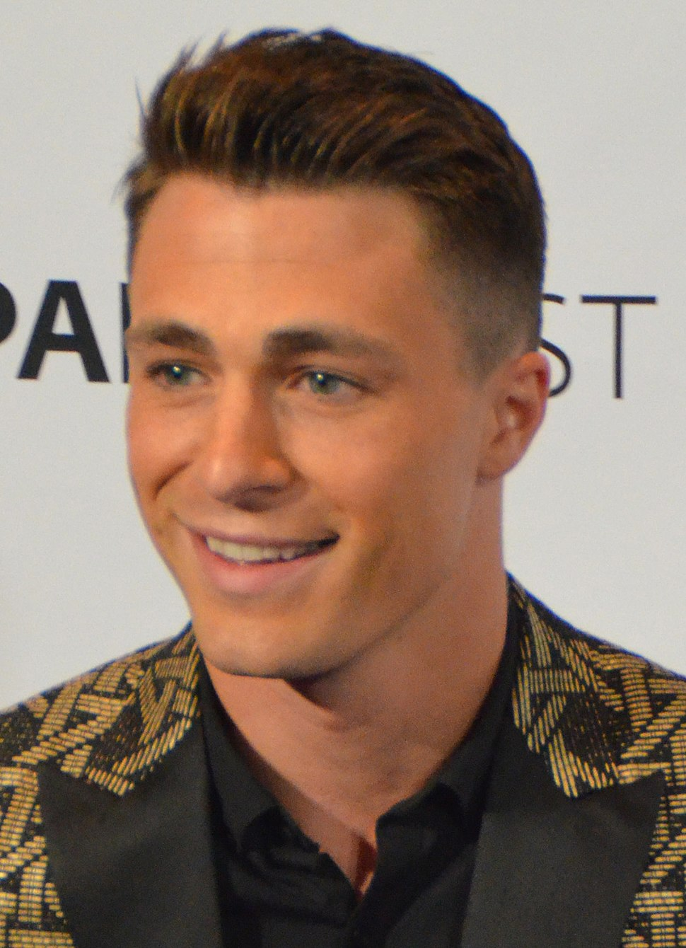 Colton Haynes PaleyFest 2015 (cropped)