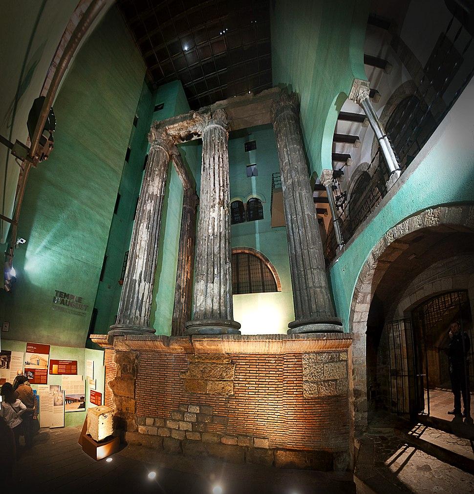 Columnas Templo de Augusto Barcelona
