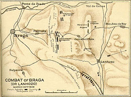 Description de l'image Combate napoleonico Braga.jpg.