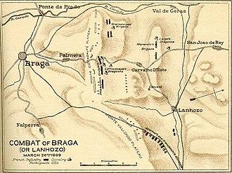 Battle of Braga (1809) - Image: Combate napoleonico Braga