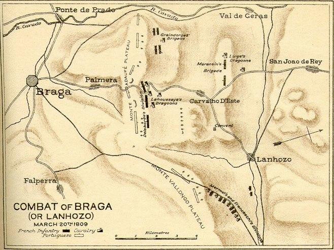 Combate napoleonico Braga