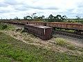Comboio parado sentido Guaianã no pátio da Estação Ferroviária de Itu - Variante Boa Vista-Guaianã km 203 - panoramio.jpg