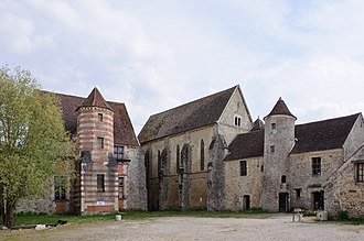 Coulommiers, Seine-et-Marne - Commanderie of the Knights Templar