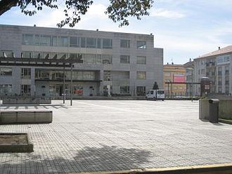 Boiro - Image: Concello Boiro dende estrada (5)