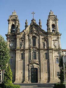 Resultado de imagen de igreja dos congregados braga