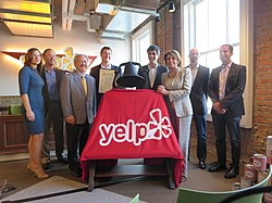 Congresswoman Pelosi attends Ribbon-Cutting Ceremony at Yelp's New Headquarters (10841919184).jpg