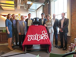 Congresswoman Pelosi attends Ribbon-Cutting Ceremony at Yelp's New Headquarters (10841919184).jpg