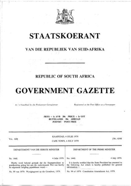 File:Constitution Amendment Act 1979.djvu