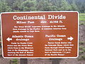 Continental Divide sign, RMNP, CO IMG 5297.JPG